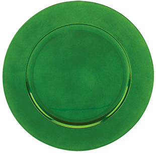 Green Charger Plate 13 Quot Round Acrylic Buy Green