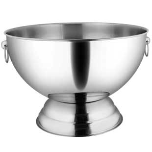 Punch Bowl With Handle Stainless Steel Buy Punch Bowl