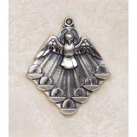 Dynamic Holy Spirit Medal - in Sterling Silver
