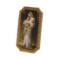 Bouguereau's Innocence Florentine Plaque
