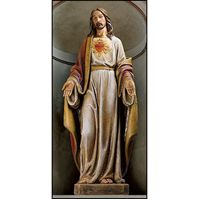 Sacred Heart of Jesus - Church Size Statue