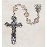 Austrian Clear Crystal Rosary