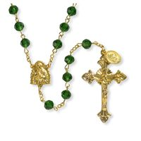 Our Lady of Guadalupe - Catholic Crystal Rosary