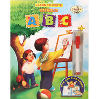 Learn To Write Catholic ABC - Wipe and Clean Book