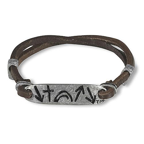 Leather & Metal Slider Bracelet - Witness Collection