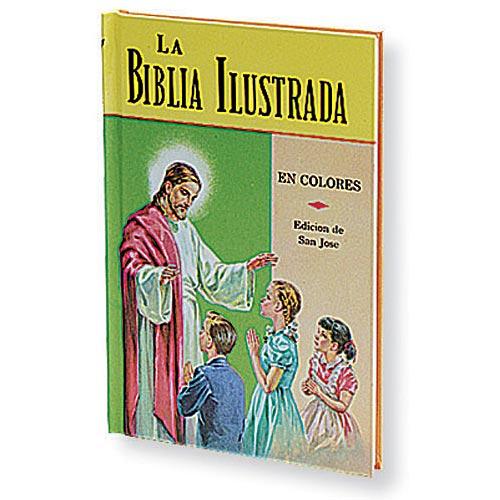 La Biblia Ilustrada - Spanish Illustrated Bible for Children