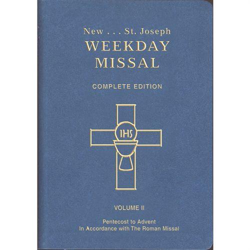 St Joseph Weekday Missal Vol II - Catholic Book Publications