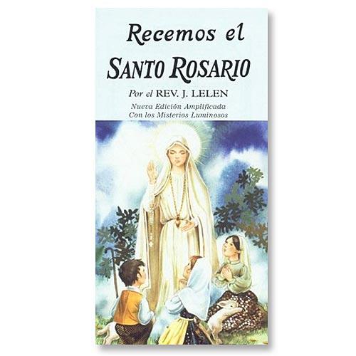 Recemos El Santo Rosario - Rosary Booklet in Spanish