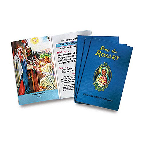 Pray the Rosary Booklets - Package of 10 - Catholic Book Publishing