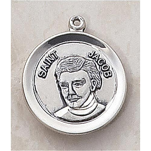 Saint Jacob Medal - In Sterling Silver