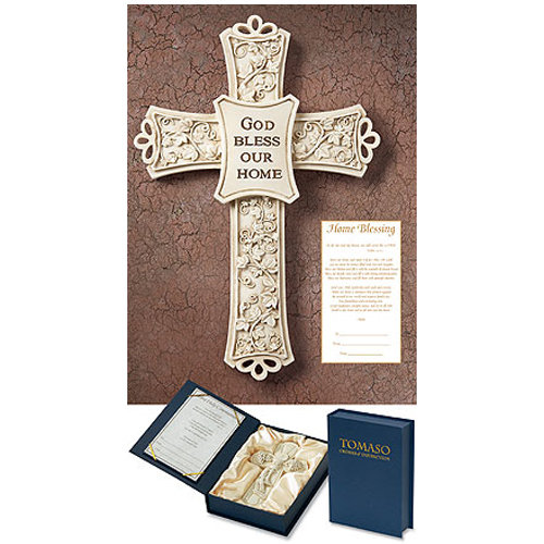 Home Blessing Gift Cross For The Catholic Home Wedding Gifts