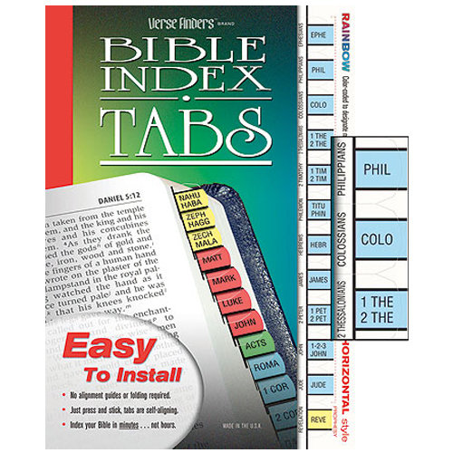 Verse Finder Bible Tabs