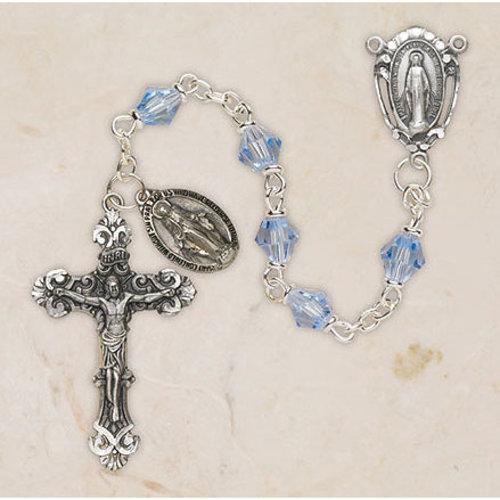Baroque Crystal Rosary Cielo