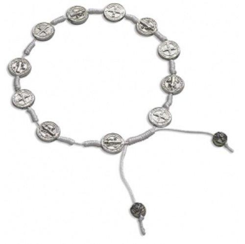 Saint Benedict Rosary Bracelet