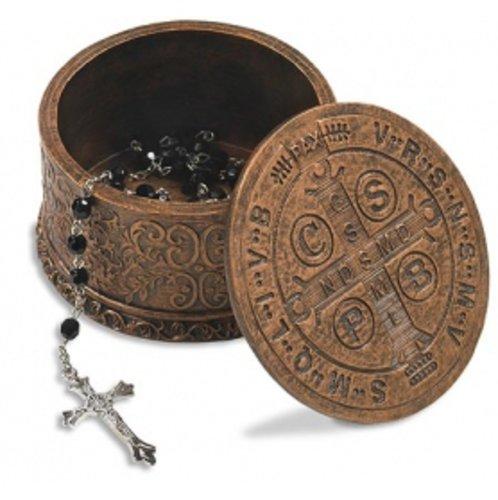 Saint Benedict Rosary Box