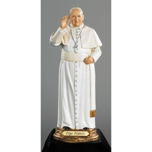 Pope Francis Catholic Statue for the Home