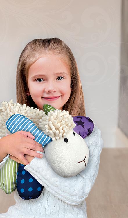 Wee Believers Lil' Prayer Buddy Louie the Lamb - Recites 3 Catholic Prayers