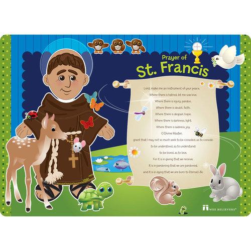 Saint Francis Faith Mat