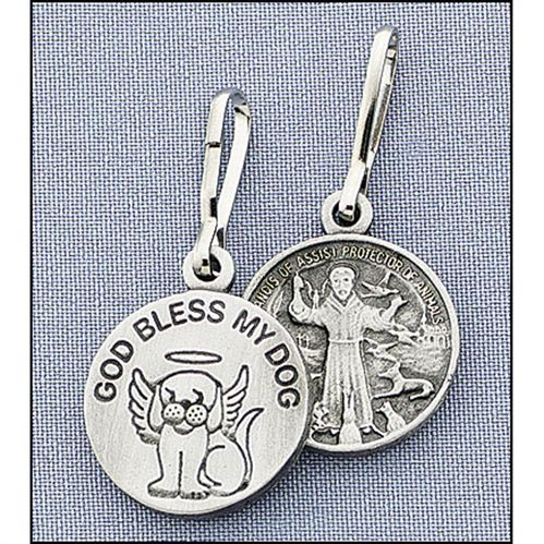 God Bless My DogPet Medal