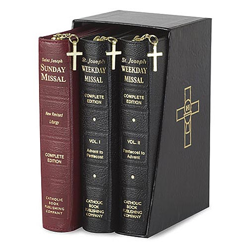 Weekday/Sunday Missal Gift Set - Saint Joseph Edition