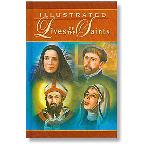 Illustrated Lives of Saints - Catholic Gifts & More - B0994