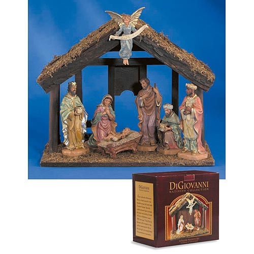 DiGiovanni Nativity Scene - Seven Piece Set