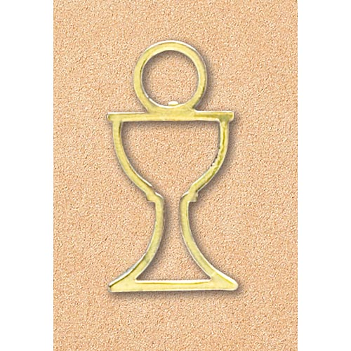 Cut Out Chalice Lapel Pin
