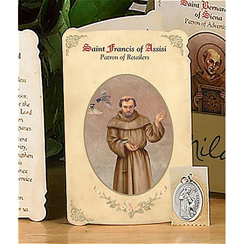 a short biography of saint francis of assisi St francis of assisi changed the world during his brief life, and he is  remembered for miracles people say god performed through him and his.