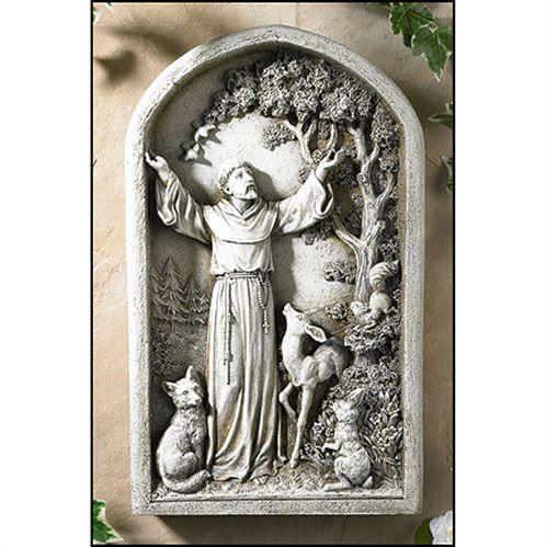 Saint Francis of Assisi - Garden Plaque
