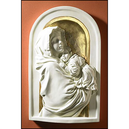 Madonna of the Streets Icon Plaque