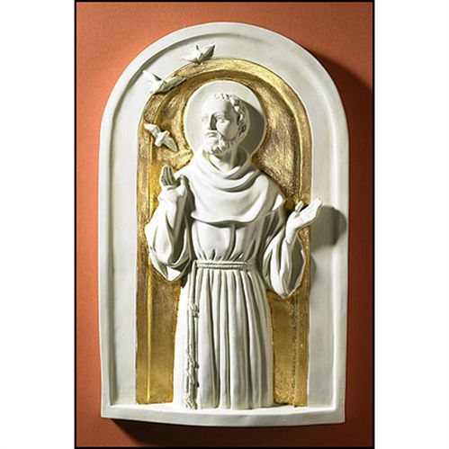 Saint Francis Icon Plaque