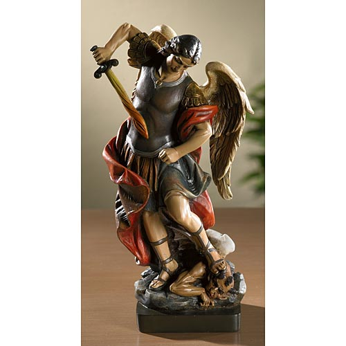 Saint Michael Catholic Statue