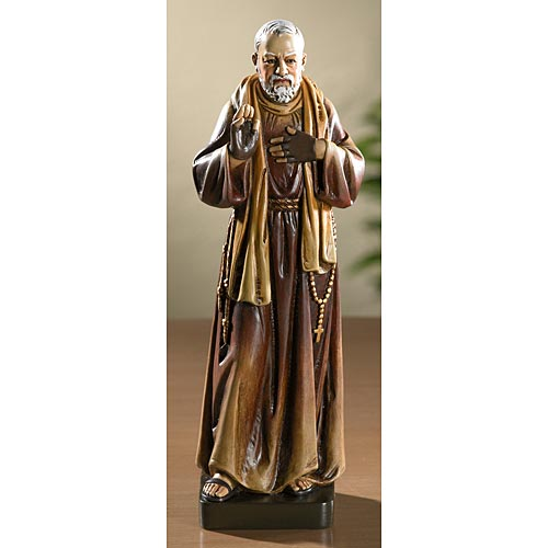 Saint Padre Pio - Catholic Statue for the Home