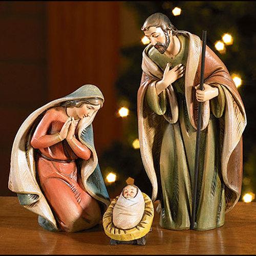 Holy Family Nativity Set
