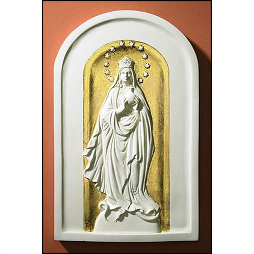 Mary Queen of the Universe Icon Plaque