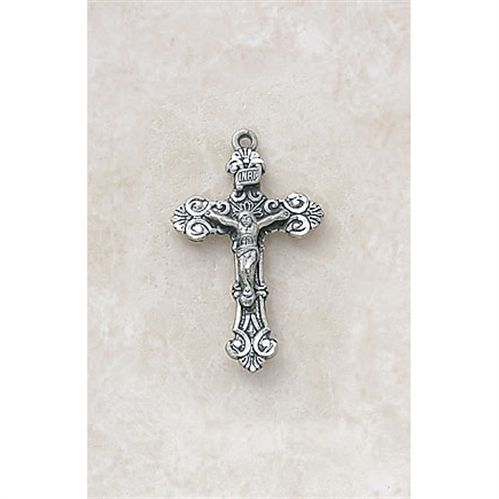 Filigree Crucifix in Sterling Silver