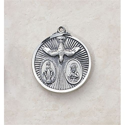 Sacred Heart, Blessed Mother - Creed Holy Spirit Medal