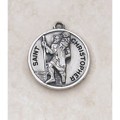 Sterling Silver - Saint Christopher Medal
