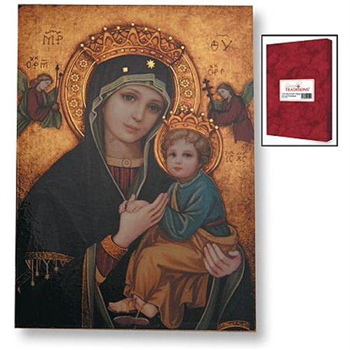 Our Lady of Perpetual Help Icon Plaque