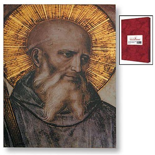 Saint Benedict Icon Plaque