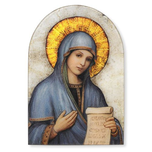 Mother of the Divine Word Plaque