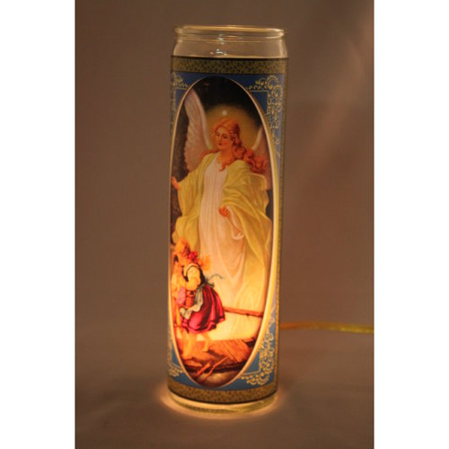 Flameless Candle Guardian Angel