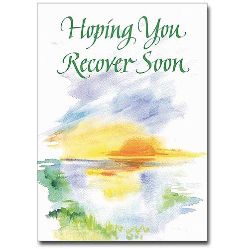 Hoping You Recover Soon Get Well Card