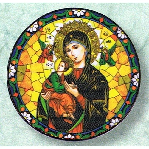 Our Lady of Perpetual Help Static Sticker