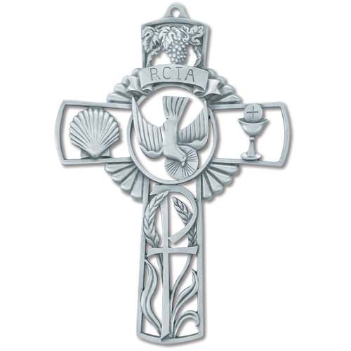 RCIA Wall Cross - Rite of Christian Initiation for Adults