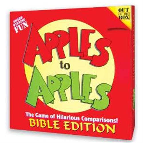Apples To Apples Board Game - Bible Edition