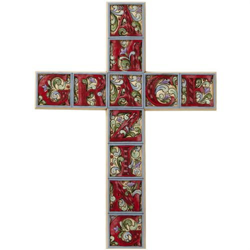 Amazing Grace Cross - Jim Shore Design