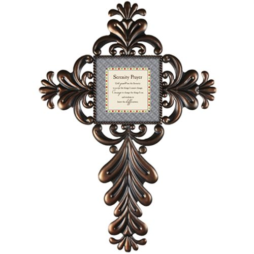 Serenity Prayer Cross Jim Shore Designs