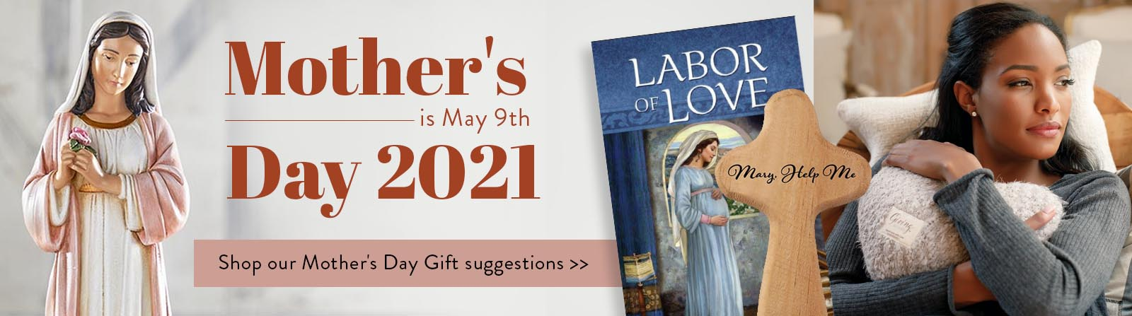 Mother's Day is May 9th Day 2021. Shop our Mother's Day Gift Suggestions
