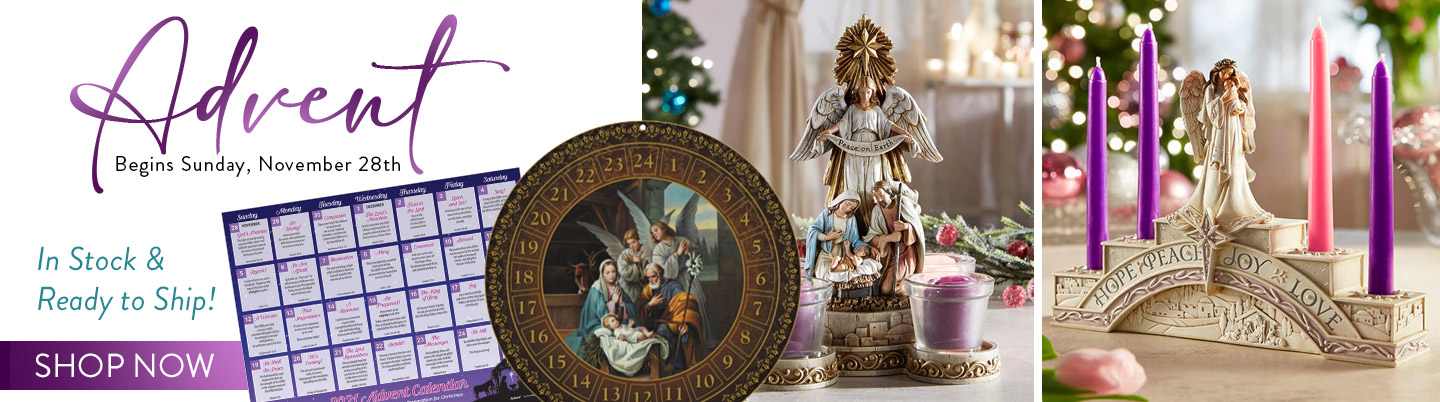 Advent Begins Sunday, November 28th. In Stock & Ready to Ship! Shop Now!